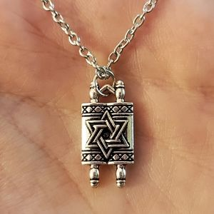 Jewelry - NWOT Silver Torah Necklace